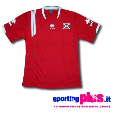 National Football shirt 2009/11 Burundi Away by Errea