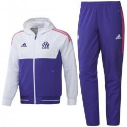 Olympique Marseille Eu präsentationsanzug 2017/18 - Adidas