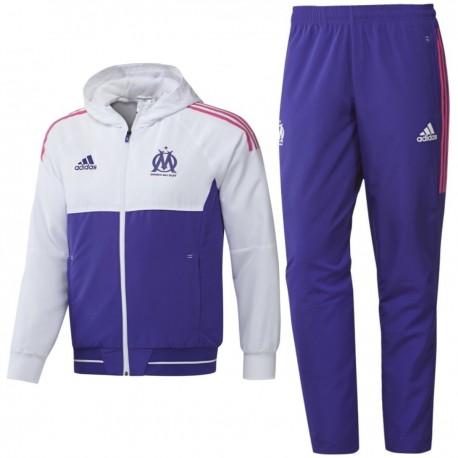Olympique Marseille Eu presentation tracksuit 2017/18 - Adidas