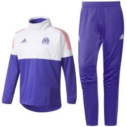 Tuta tecnica da allenamento Hybrid Olympique Marsiglia Eu 2017/18 - Adidas