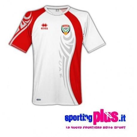 Maglia Nazionale Calcio Emirati Arabi Uniti 2009/11 Home by Errea