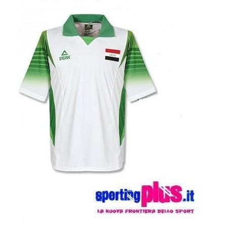 Fútbol Jersey 2010/11 Irak en pico