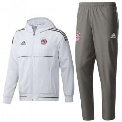 Bayern Munich UCL white presentation tracksuit 2017/18 - Adidas