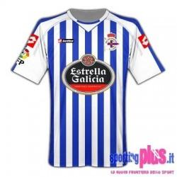 Camiseta Deportivo La Coruna casa 10/11 de Lotto