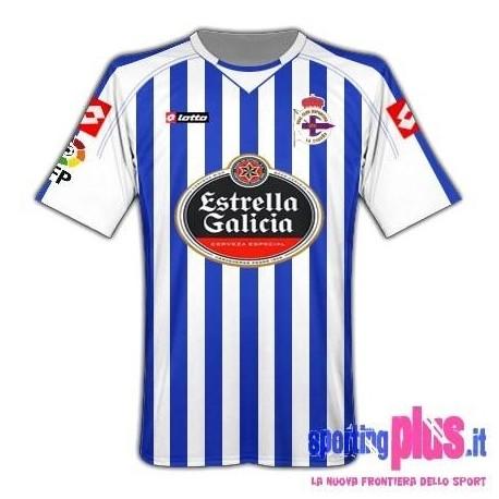 Maglia Deportivo La Coruna Home 10/11 by Lotto