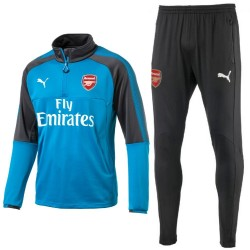 Arsenal FC blue technical training tracksuit 2017/18 - Puma