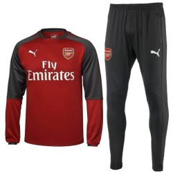 Survetement sweat d'entrainement Arsenal 2017/18 - Puma