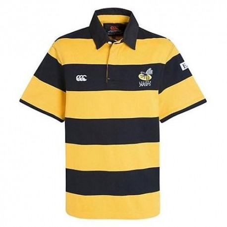 London Wasps Rugby shirt 2010/12 Alternate Classic by Canterbury