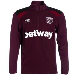 West Ham United technical training sweatshirt 2017/18 - Umbro