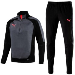 Puma Teamwear evoTRG Winter technical training tracksuit - black/ebony