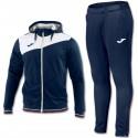 Joma Teamwear Granada training hooded tracksuit - blu navy