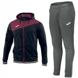 Joma Teamwear tuta da allenamento Granada con cappuccio - nero/grigio