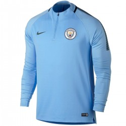 Tech sweat top d'entrainement UCL Manchester City 2017/18 - Nike