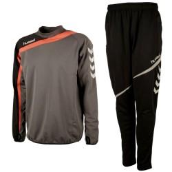 Hummel Teamwear Tech-2 Survetement Tech d'entrainement - shadow/noir