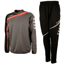 Hummel Teamwear Tech-2 technical training tracksuit - shadow/black