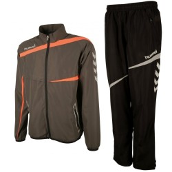 Hummel Teamwear Tech-2 presentation tracksuit - shadow/black