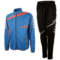 Hummel Teamwear Tech-2 tuta da allenamento - blu/nero
