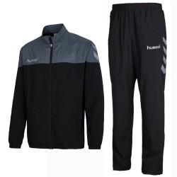 Hummel Teamwear Sirius presentation tracksuit - black