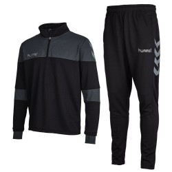 Hummel Teamwear Sirius technical training tracksuit - black