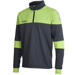 Hummel Teamwear Sirius felpa tecnica allenamento - grigio/verde
