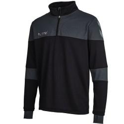 Hummel Teamwear Sirius Tech sweat top d'entrainement - gris/vert