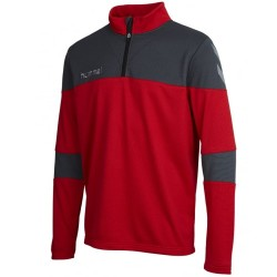 Hummel Teamwear Sirius Tech sweat top d'entrainement - rouge
