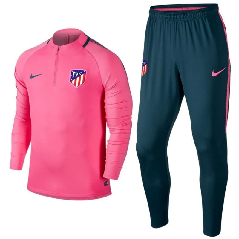ensemble de foot Atlético de Madrid Entraînement