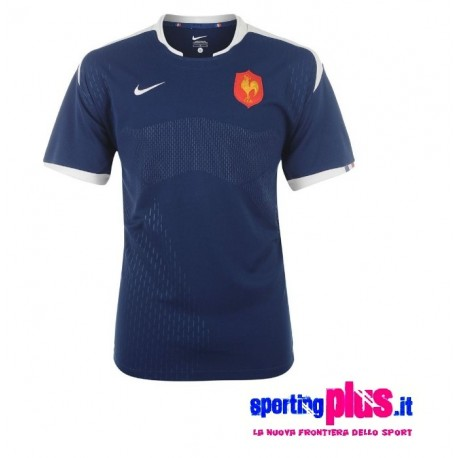 Maglia Nazionale Rugby Francia 2010/11 Home by Nike