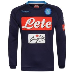 SSC Napoli navy training sweatshirt 2017/18 - Kappa