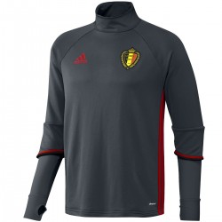 Belgium football training technical sweatshirt 2016/17 - Adidas