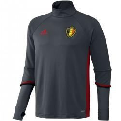 Sudadera tecnica entreno seleccion Belgica 2016/17 - Adidas