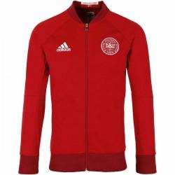 Dänemark Fußball Präsentation Anthem Trainingsjacke 2016/17 - Adidas