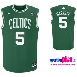 Boston Celtics Basketball Jersey 2010/11 por Adidas-Garnett 5