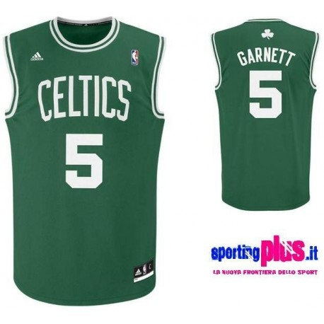 Boston Celtics Basketball Trikot 2010/11 von Adidas-Garnett 5