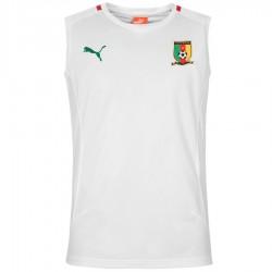 Camerun camiseta sin mangas de entreno 2016 blanco - Puma