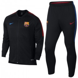 FC Barcelona black training presentation tracksuit 2017/18 - Nike