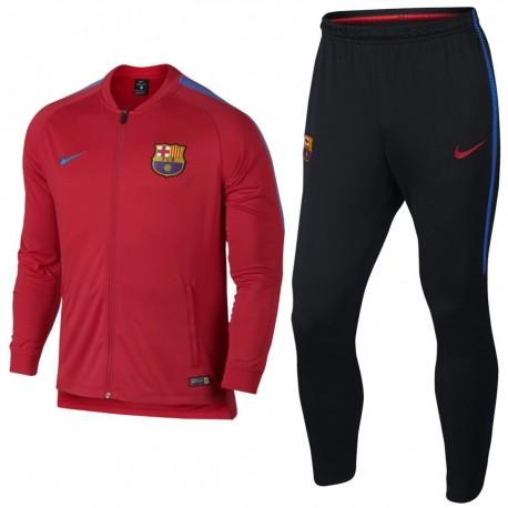 FC Barcelona red training presentation tracksuit 2017 18 - Nike 9089cd91d