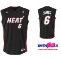 Miami Heat Basketball Trikot 2010/11 von Adidas Lebron 6