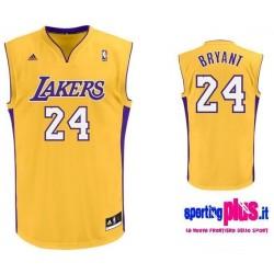 Los Angeles Lakers Basketball Trikot von Adidas-Kobe Bryant 24