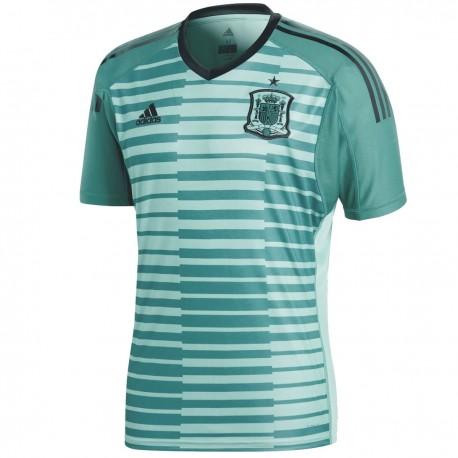 Spain goalkeeper Home football shirt World Cup 2018 - Adidas