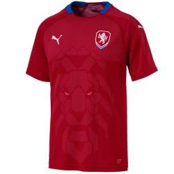 Maglia da calcio nazionale Repubblica Ceca Home 2018/19 - Puma