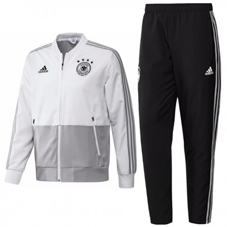 Germany football team presentation tracksuit 201819 Adidas