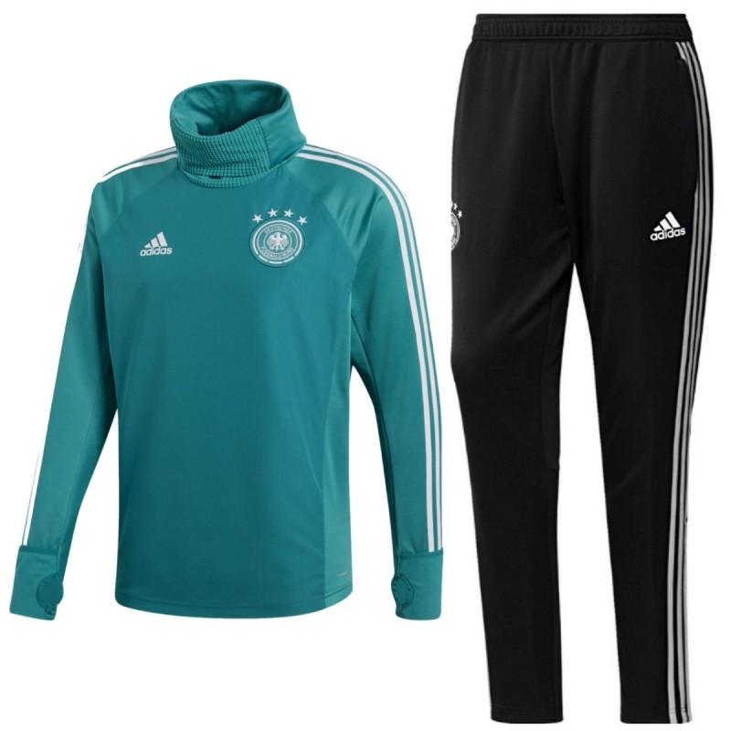Germany Green Polar Tech Training Tracksuit 2018 19 Adidas