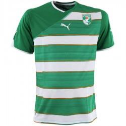 Maillot de foot Cote d'Ivoire exterieur 2010/11 - Puma