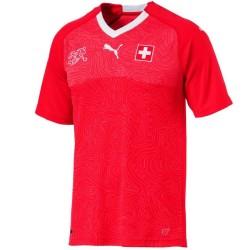 Maglia calcio nazionale Svizzera Home Coppa del Mondo 2018/19 - Puma