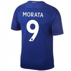 Morata 9 Chelsea FC Home Fußball Trikot 2017/18 - Nike