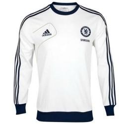 Chelsea formación suéter blanco Adidas 2012/13