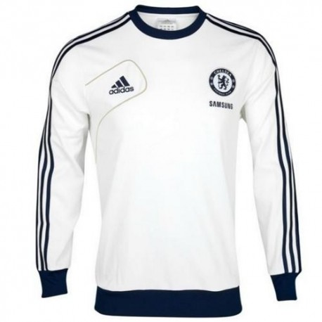 Chelsea Training sweater 2012/13 Adidas-white