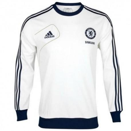 Felpa Allenamento Chelsea 2012/13 Adidas - Bianco