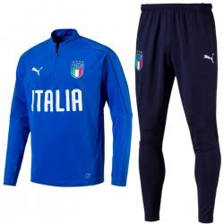 Tuta tecnica allenamento azzurra nazionale Italia 2018/19 - Puma